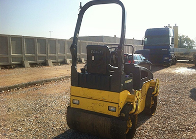 Road roller BOMAG BW120AD